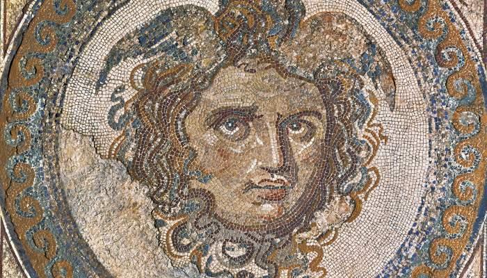 Mosaico de la Medusa