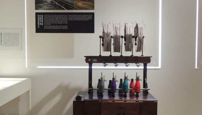 <p><strong>Electric spooler</strong></p> <p>1940</p> <p>Construcciones Mecanicas Lloret</p>