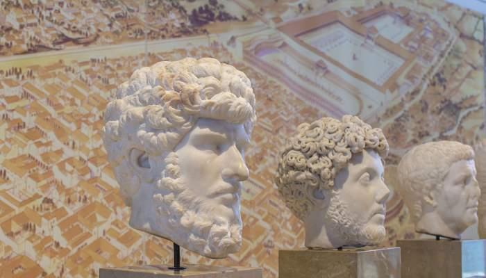 <p>Representaci&oacute;n del emperador Lucio Vero</p>
