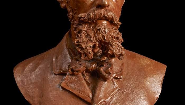 Portrait bust of Josep Berga i Boix