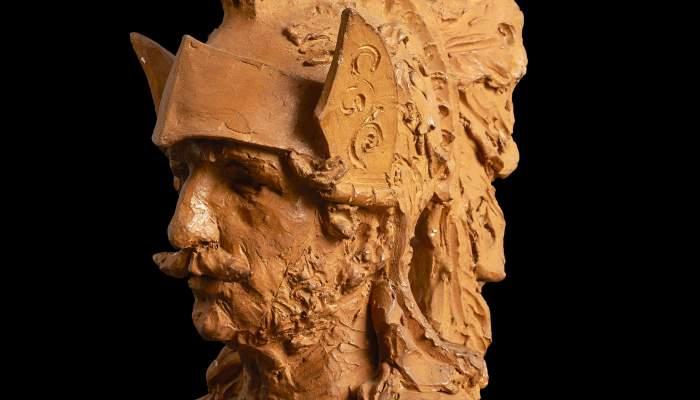 Estudi per al cap del gegant (Study for the giant's head)