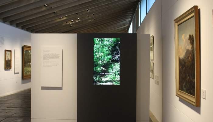<p>Photograph of the Olot School screen Space Museum of La Garrotxa</p>