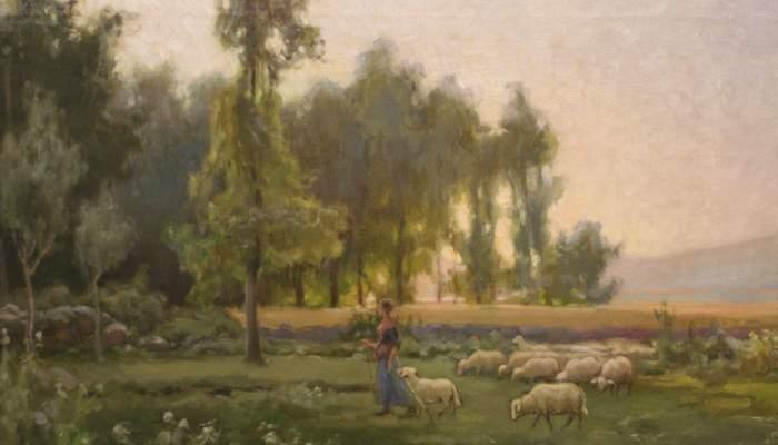 La pastora (The shepherdess)