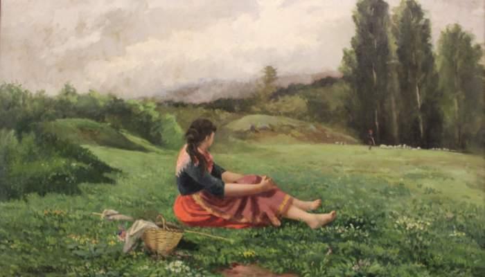 Untitled La pastora (The shepherdess)