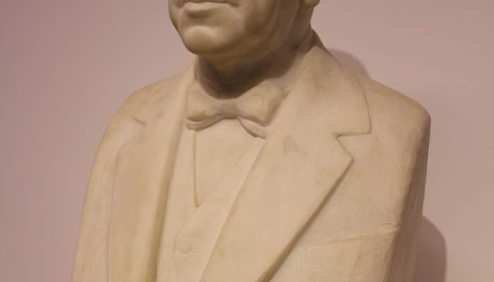 Portrait bust of Manuel Malagrida i Fontanet