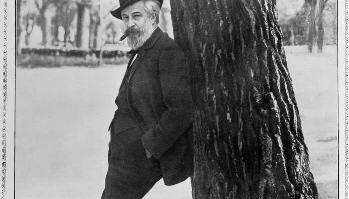 Santiago Rusiñol al Parque del Retiro de Madrid