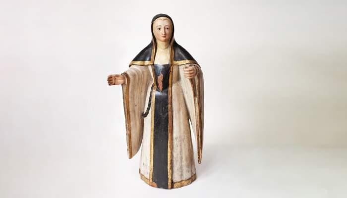 <p>N&uacute;mero de registre: 308</p> <p>Tall de Santa Cistercenca. Segle XVI.</p>