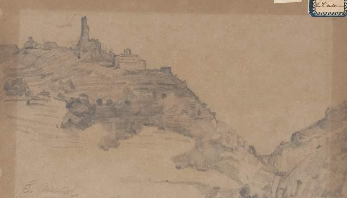 Vista del castell de Subirats