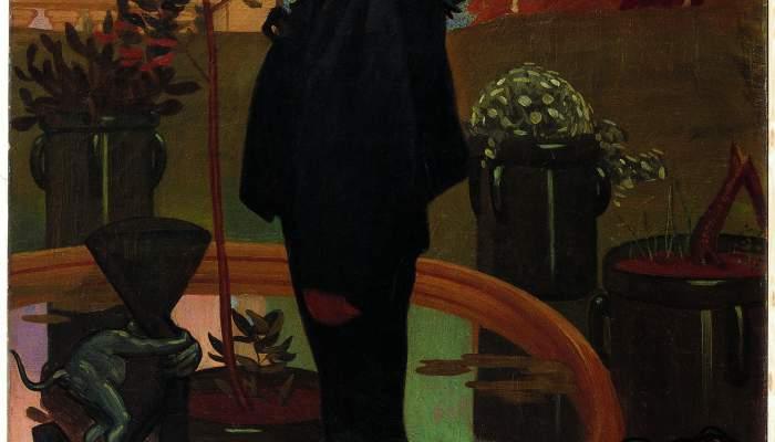 <p>Inv.: 507. Feliu Elias Bracons, Apa, Retrat de Llu&iacute;s Elias Bracons, c. 1907. Oli s. tela, 116x81 cm.</p>