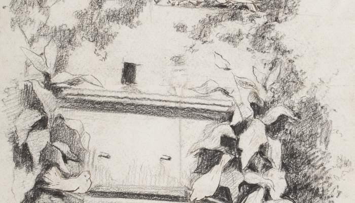 Font en un pati de Granada
