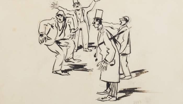 Quatre personatges