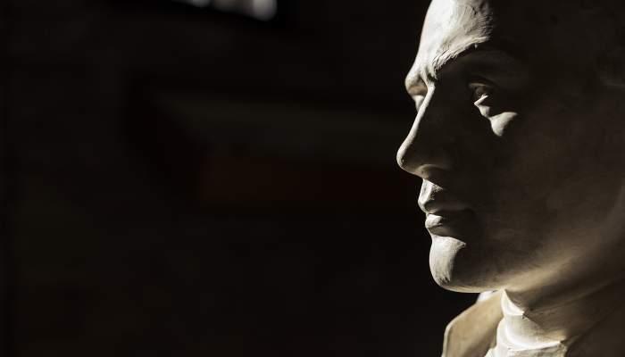 <p><em>Bust de Jacint Verdaguer</em>, Pere Punt&iacute; i Terra, 1936, motlle de guix.</p>