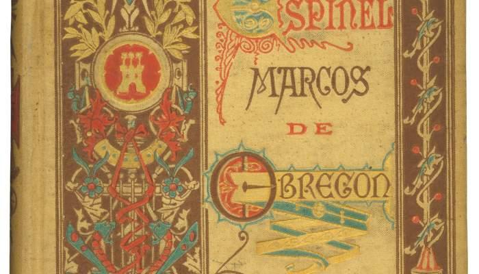 Cubierta de Vida del Escudero Marcos de Obregón