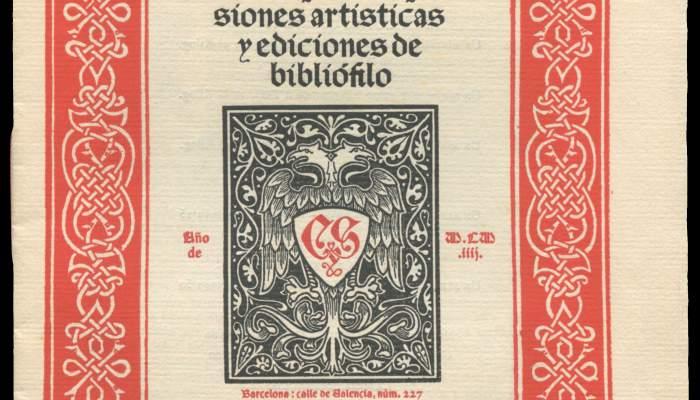 Tipos góticos incunables para impresiones artísticas y ediciones de bibliófilo