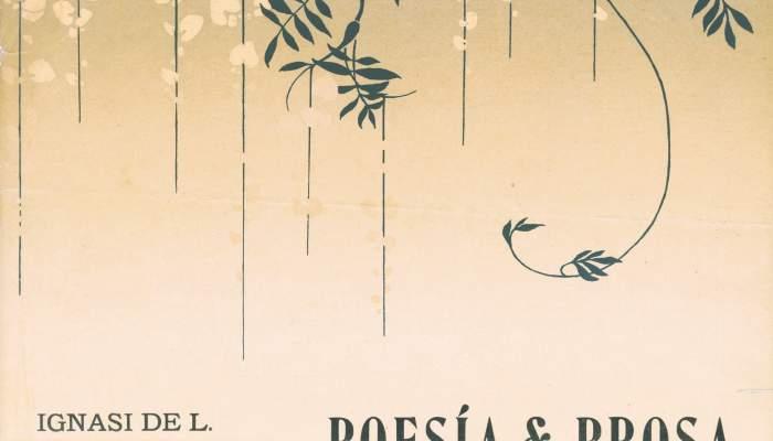 Cartel de Poesía & Prosa