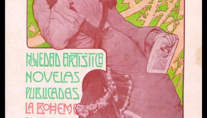 Cartell per a la «Colección Ambos Mundos»