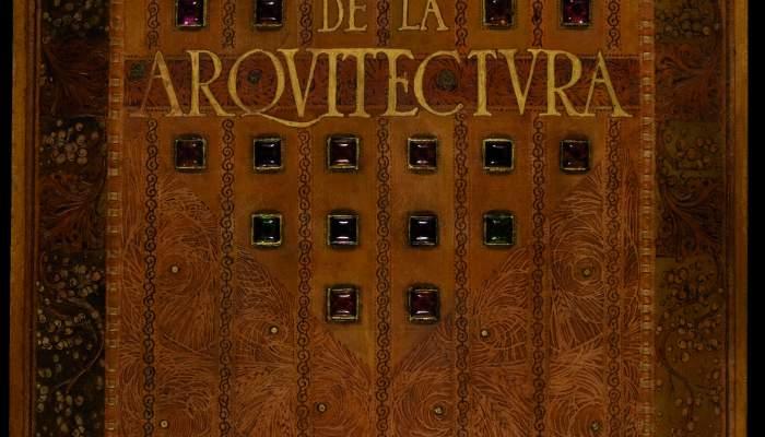 Projecte d'enquadernació de Las set llàntias de la Arquitectura