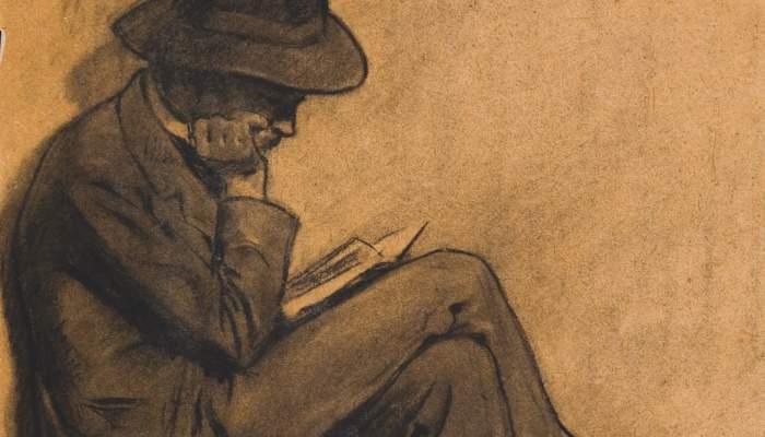 Home llegint