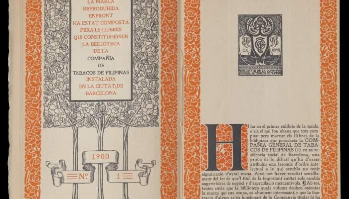 Primer llibre d'exlibris d'en Triadó