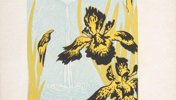 Prueba litográfica del capítulo «A les Cascades» del libro Oracions