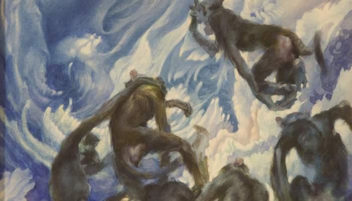 L'illa dels monos (Les mil i una nits)
