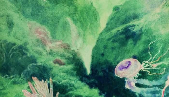 Paisatge submarí (Les mil i una nits)