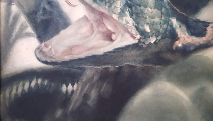 Corpulent rèptil (Les mil i una nits)