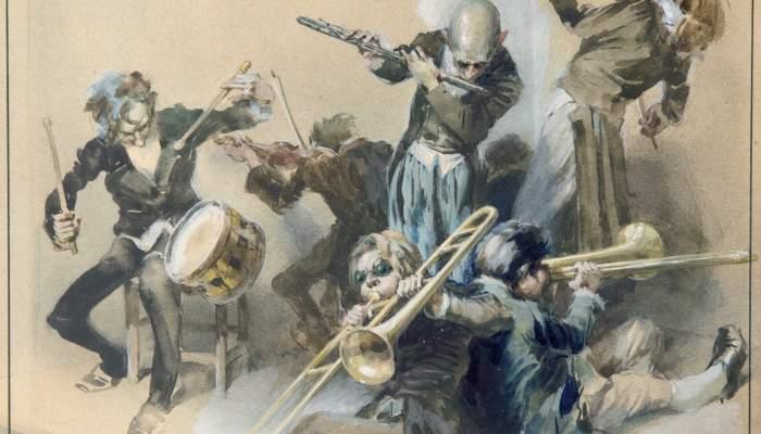 Els músics. Edgar Allan Poe