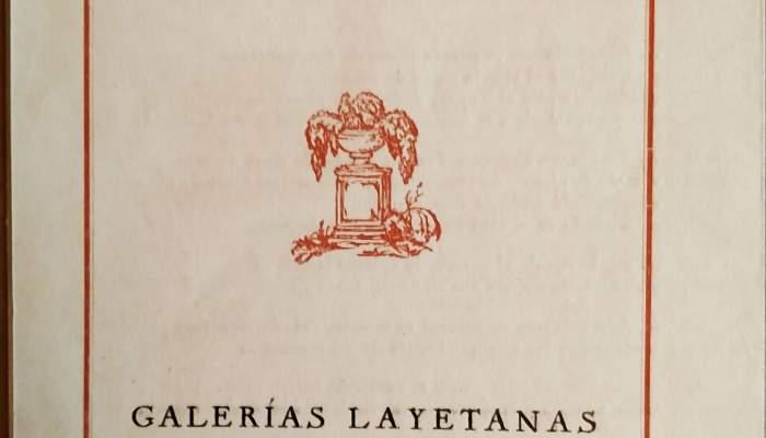 Catàleg de l'exposició realitzada a les Galeries Laietanes