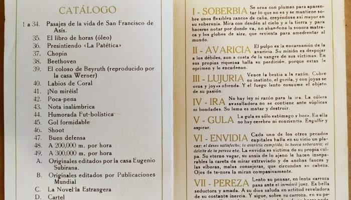 Catàleg de l'exposició realitzada als Salons de Belles Arts d'El Siglo