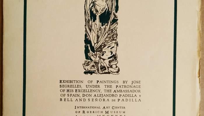 Catàleg de l'exposició celebrada al Roerich Museum