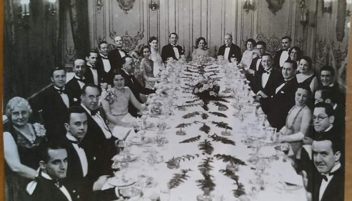 Banquet celebrat en honor de José Segrelles al Park Central Hotel