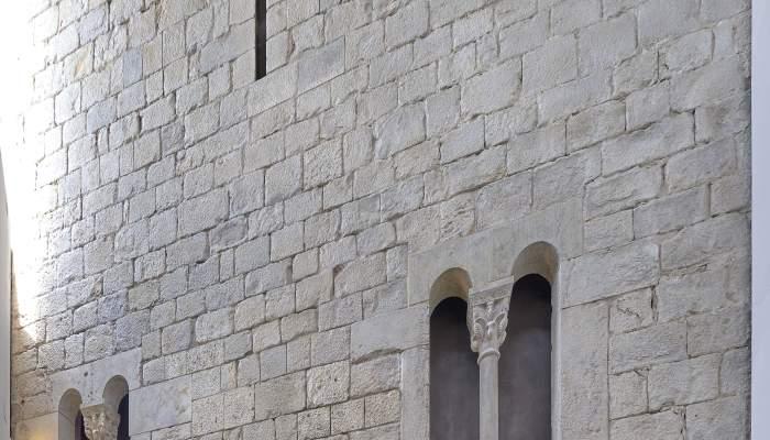 L'antiga façana Palau